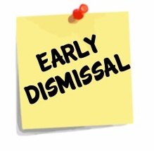 Students Dismissed at NOON - Monday, November 19 and 20