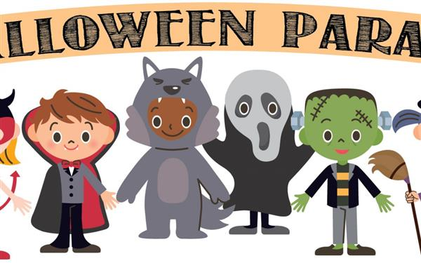 Halloween Parade - Friday, November 1 - 1:30 pm